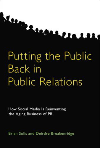 Putiting the Public Back in Public Relations