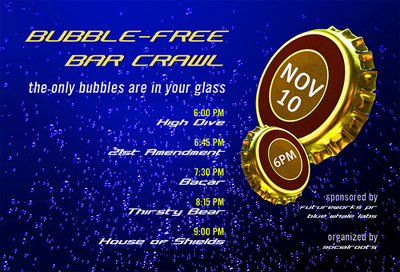 Bubble-Free Web 2.0 Bar Crawl