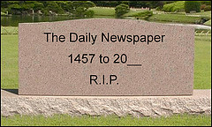 RIP Newspapers