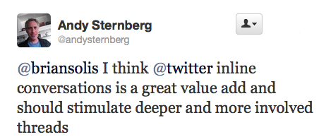 Will Twitter's New Conversations Hinder or Spark Conversations?