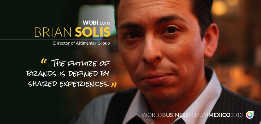 Brian Solis to Keynote World Business Forum in Mexico City