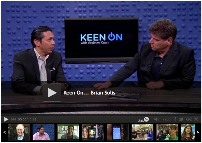 Brian Solis Makes an Appearance on TechCrunch TV