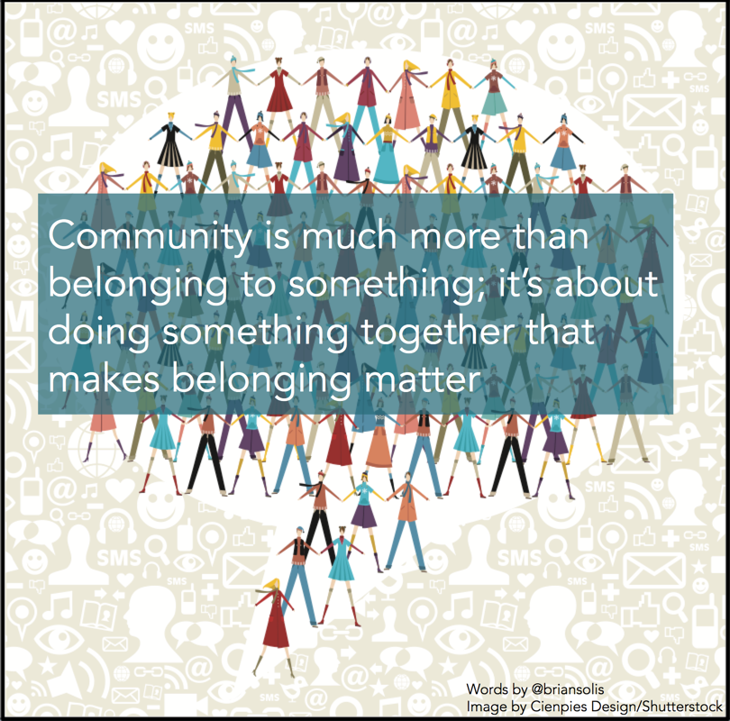 Quotes About Community: How To Foster A Culture Of Contribution: Communities Take