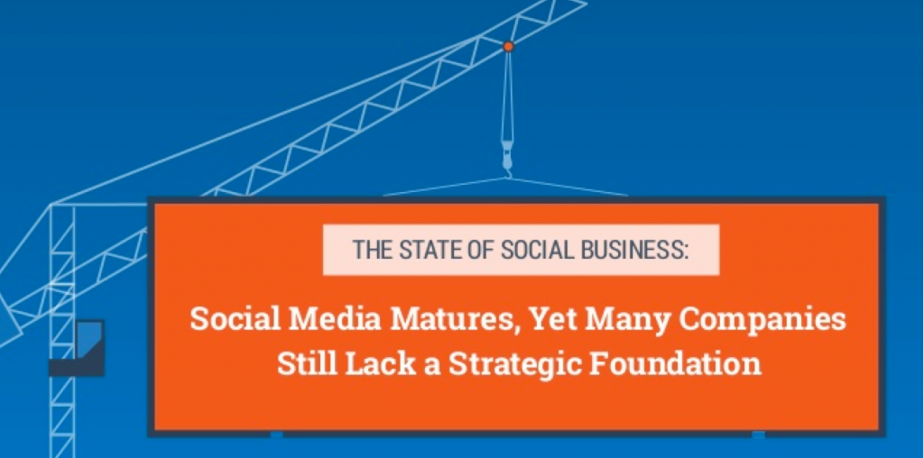 Time to Grow Up! Social businesses mature, yet many still lack a strategic foundation [infographic]