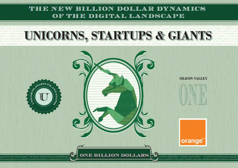 Orange Silicon Valley Unicorn Companies