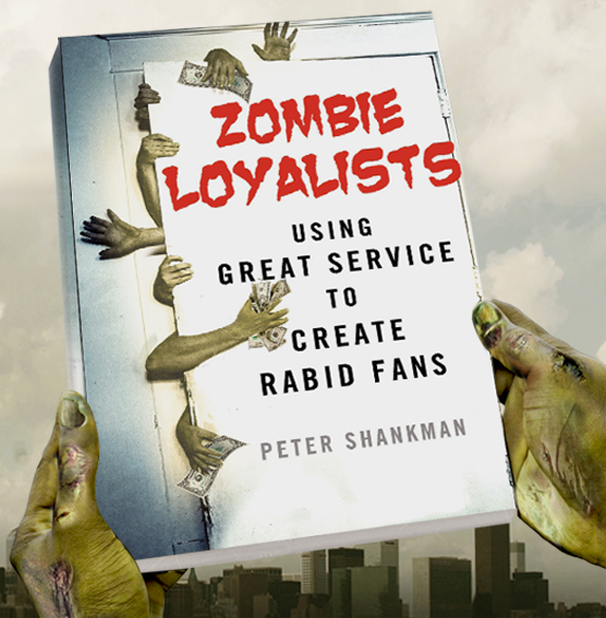 Only companies with impeccable customer service will survive the Zombie Apocalypse