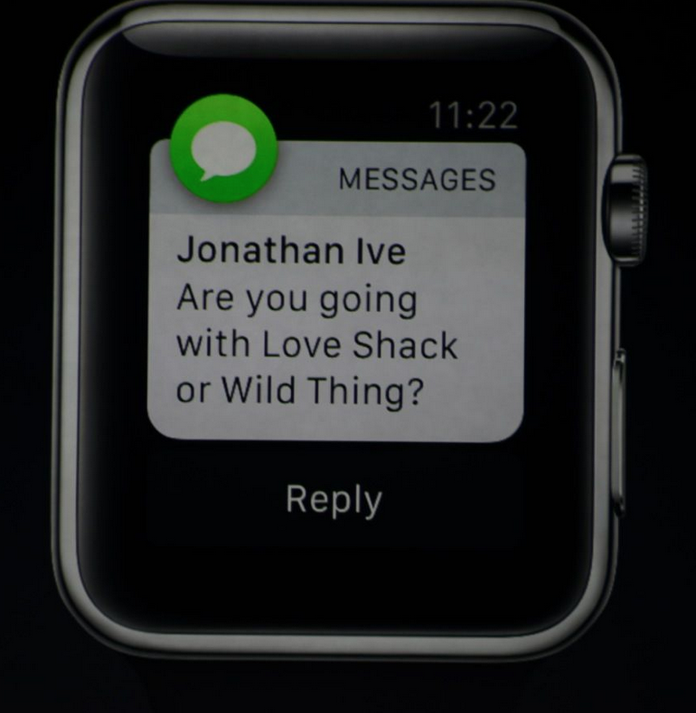 Do - Apple Watch Ive message