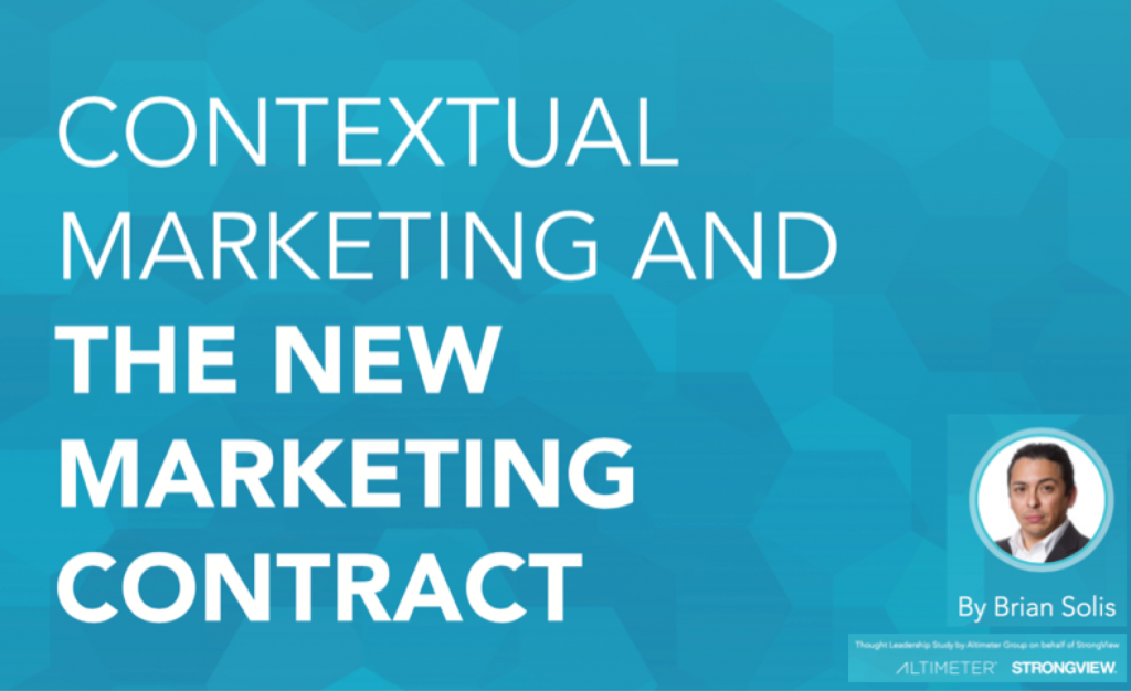 The New Marketing Contract and Why Context is the Future of Marketing