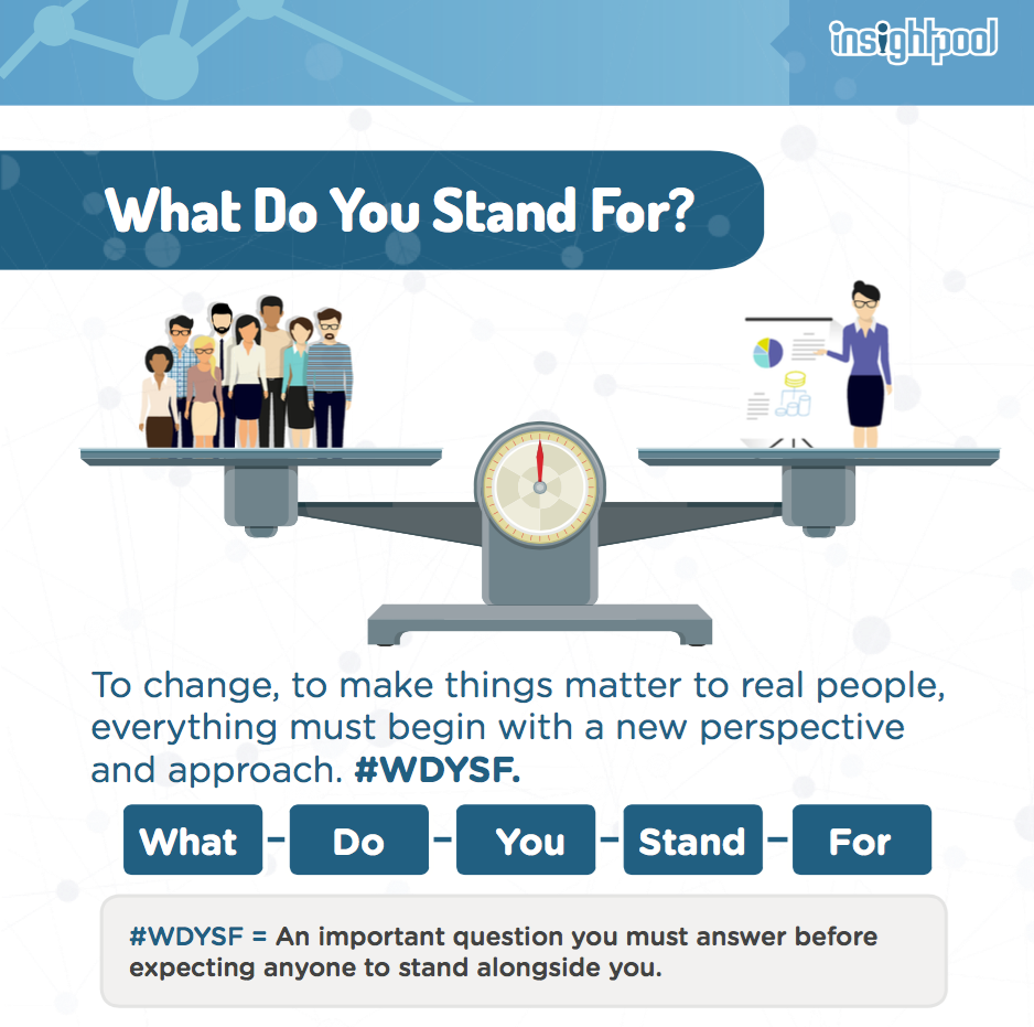 What Do You Stand For? #WDYSF