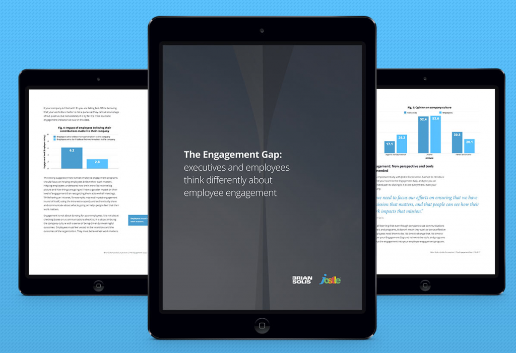 New Research: Exploring the employee Engagement Gap