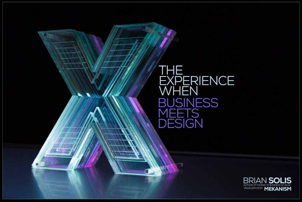 Announcing My Next Book: X, The Experience When Business Meets Design