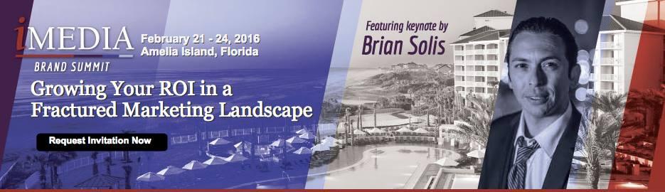 Brian Solis to Keynote iMedia Brand Summit