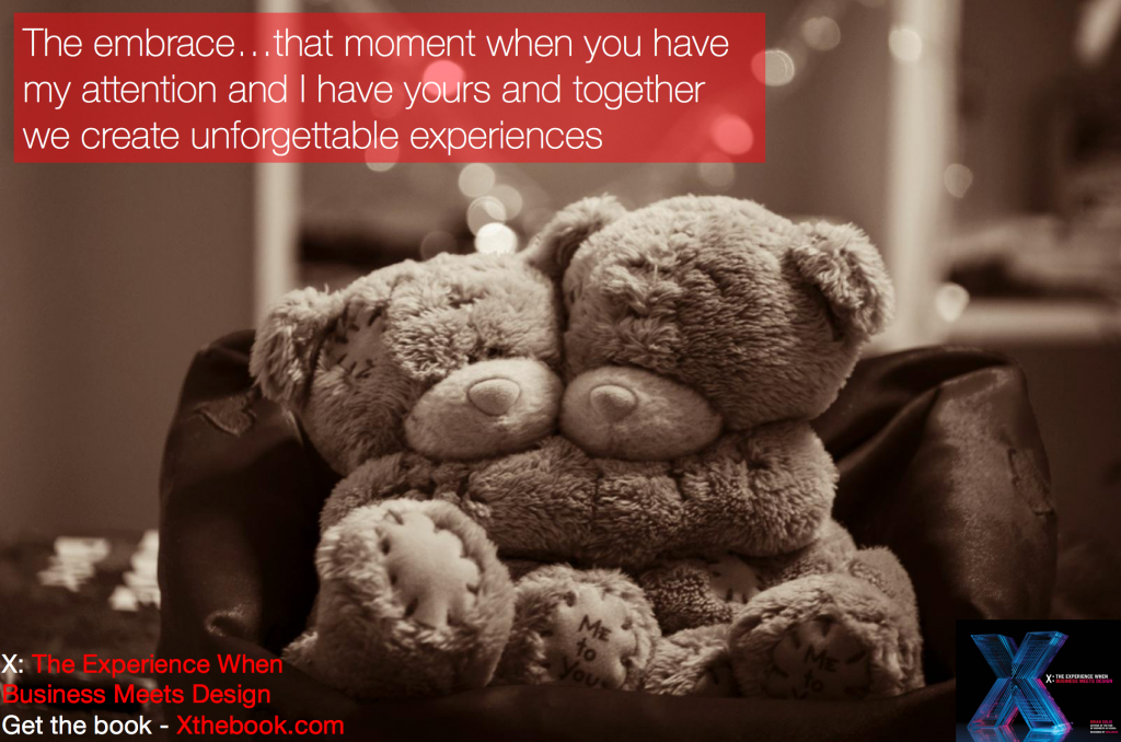 The Embrace: Creating Experiences that Nurture Attention into Engagement