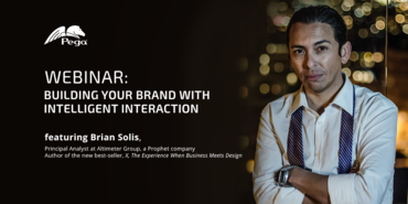 Pega: Building a Brand Through Intelligent Interaction