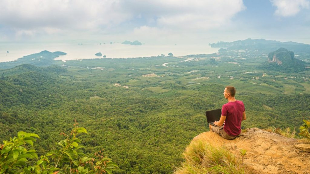 SingularityHub: How Digital Nomads Are Leading the Seismic Shift in Where We Work