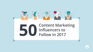 Outbrain: Content Marketing Influencers to Follow in 2017