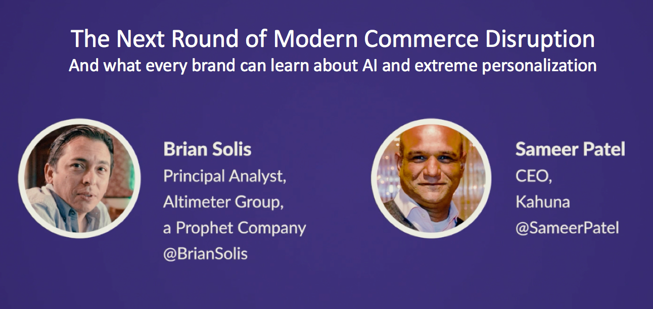 The Next Round of Modern Commerce Disruption