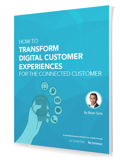 How to Transform Digital Customer Experiences for the Connected Customer