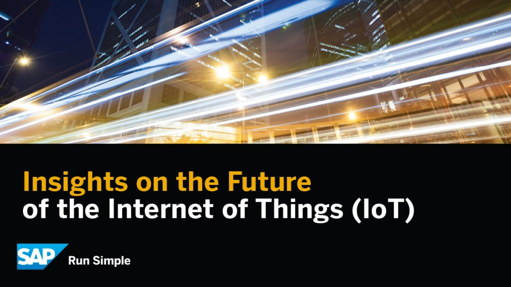 Insights on the Future of the Internet of Things (IoT)