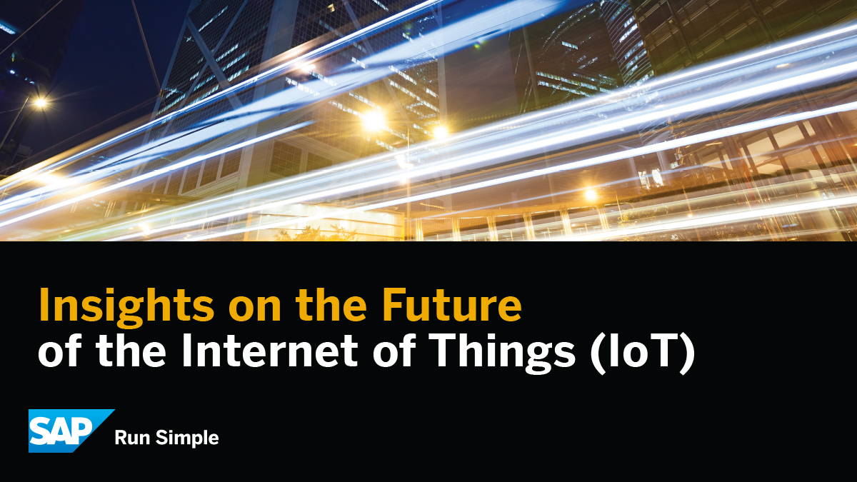 Insights on the Future of the Internet of Things (IoT) - Brian Solis