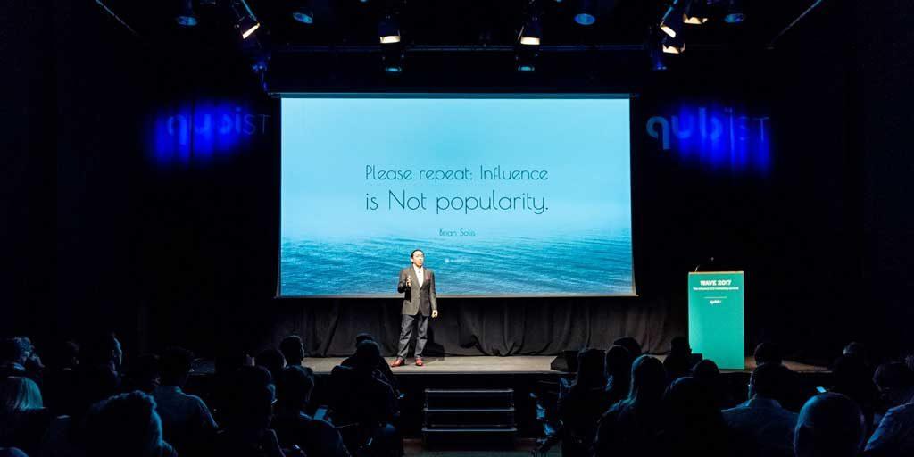 Qubist: Brian Solis opens #WAVE17 Influence 2.0 Marketing Summit