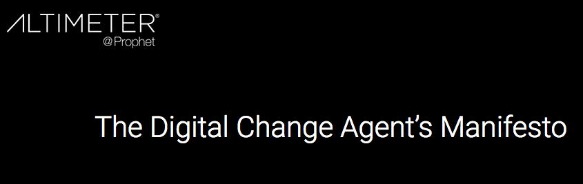 Marshall Kirkpatrick's Blog: The best part of Brian Solis' amazing new Digital Change Agent's Manifesto