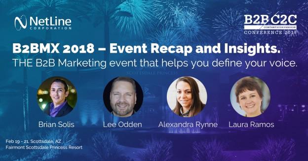 NetLine Corporation: A Recap of the B2BMX 2018 Conference