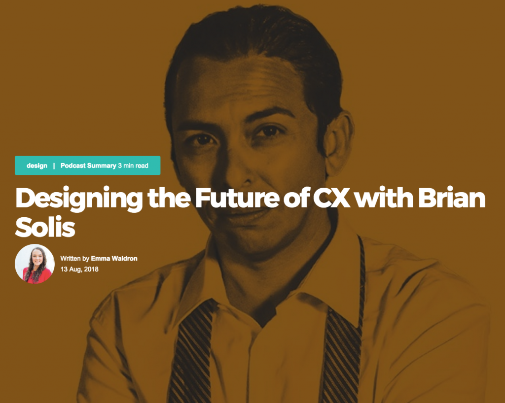 WorthIx: Designing the Future of CS with Brian Solis