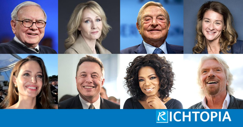 Richtopia: Philanthropists Top 100: From Warren Buffett to Elon Musk, These Are the Most Charitable People in the World