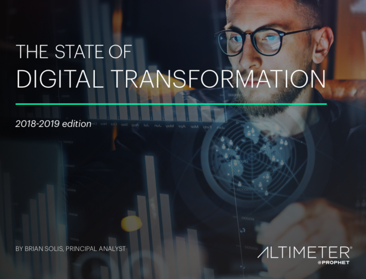 The 2018-2019 State of Digital Transformation