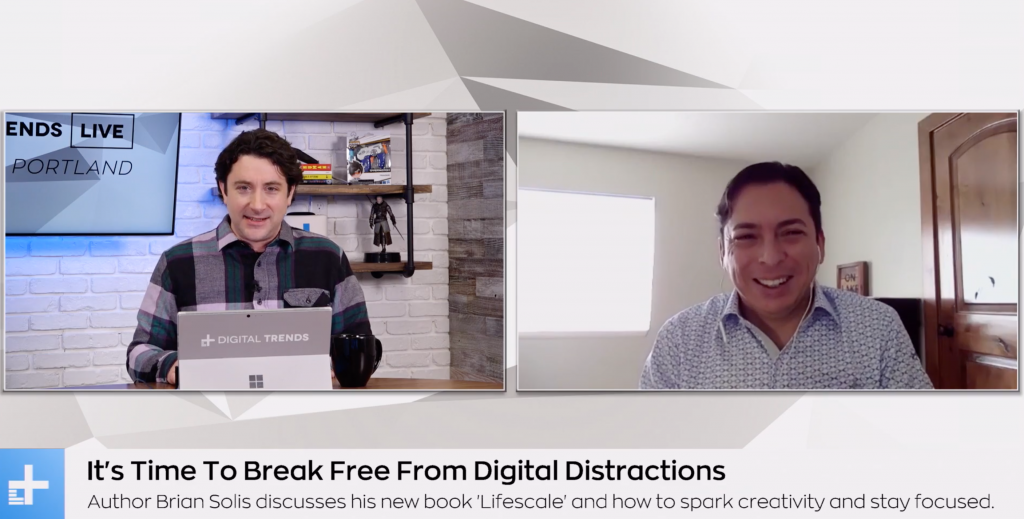 It's Time to Break Free from Digital Distractions: A Live Interview with Digital Trends