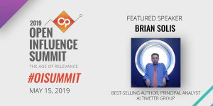 Brian Solis to Keynote 2019 Open Influence Summit