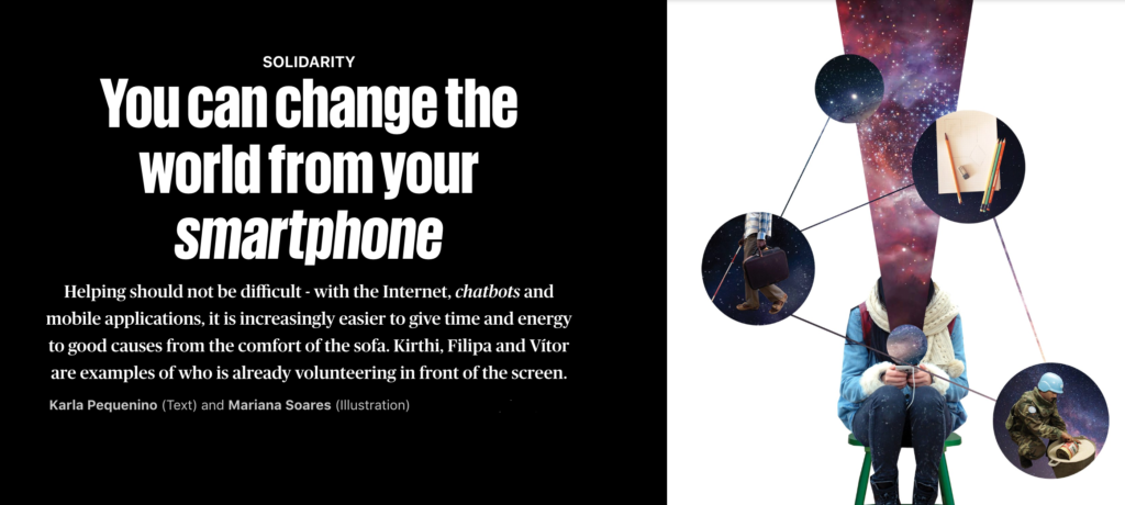 Can You Change the World from Your Smartphone?