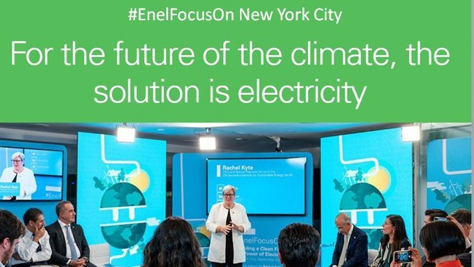 Powering a clean future through innovative, sustainable and affordable electricity – #EnelFocusOn