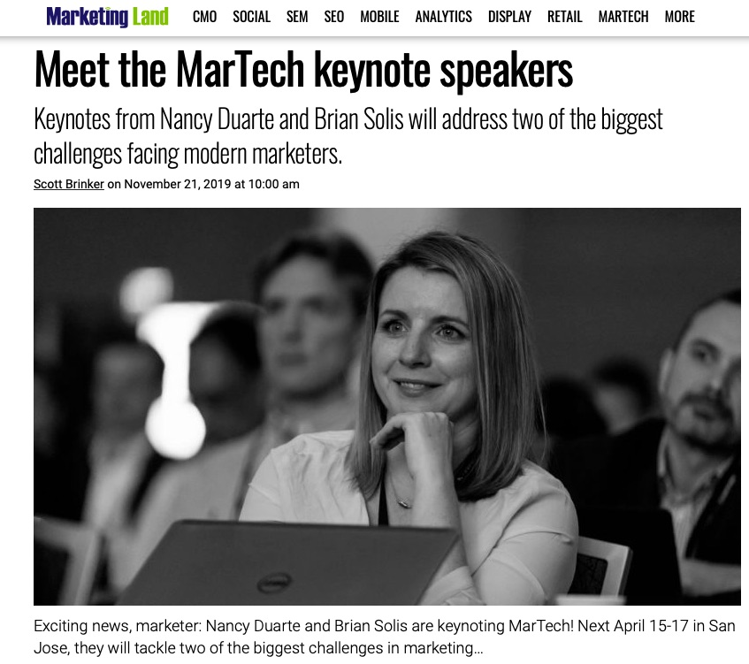 MarTech Announces Brian Solis as Keynote Speaker