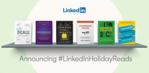 Brian Solis' Lifescale is a Featured Part of a #LinkedInHolidayReads Giveaway