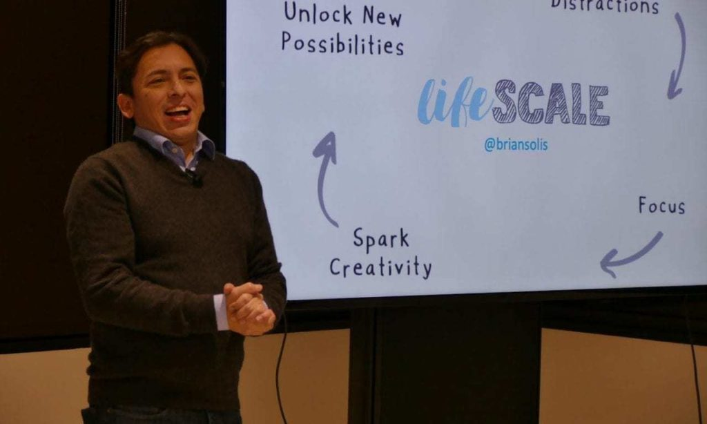 Grit Daily Covers Brian Solis' Talk on Lifescale in San Francisco