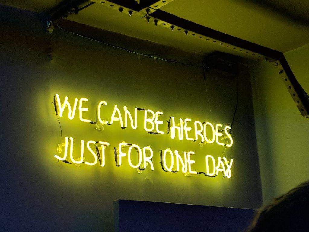 The Future Needs a Hero