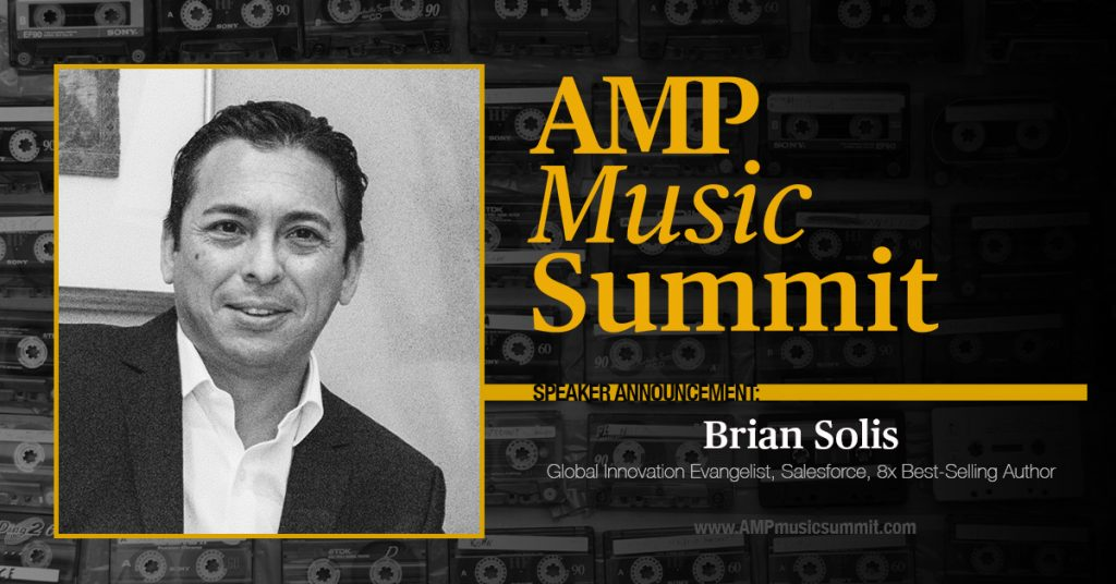 AMP Music Summit Features Virtual Keynote Speaker Brian Solis