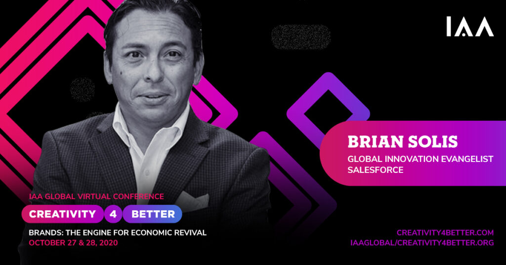 Brian Solis to Keynote IAA Creativity4Better, The Engine for Economic Revival