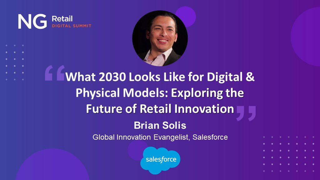 Brian Solis keynotes NG Retail Digital Summit to Explore the New Trajectory for Retail