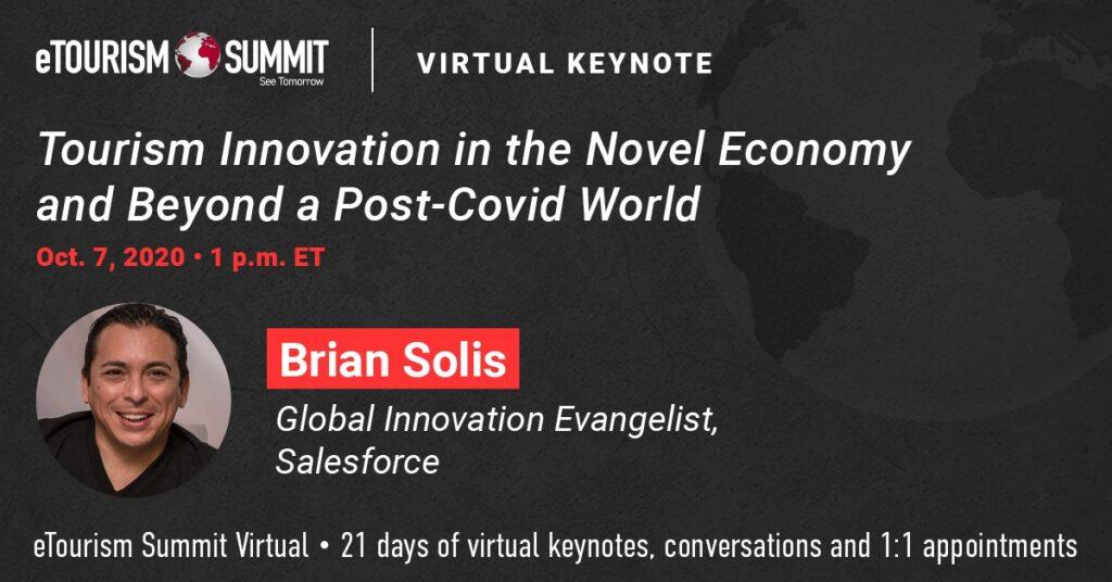 Brian Solis Keynotes eTourism Summit