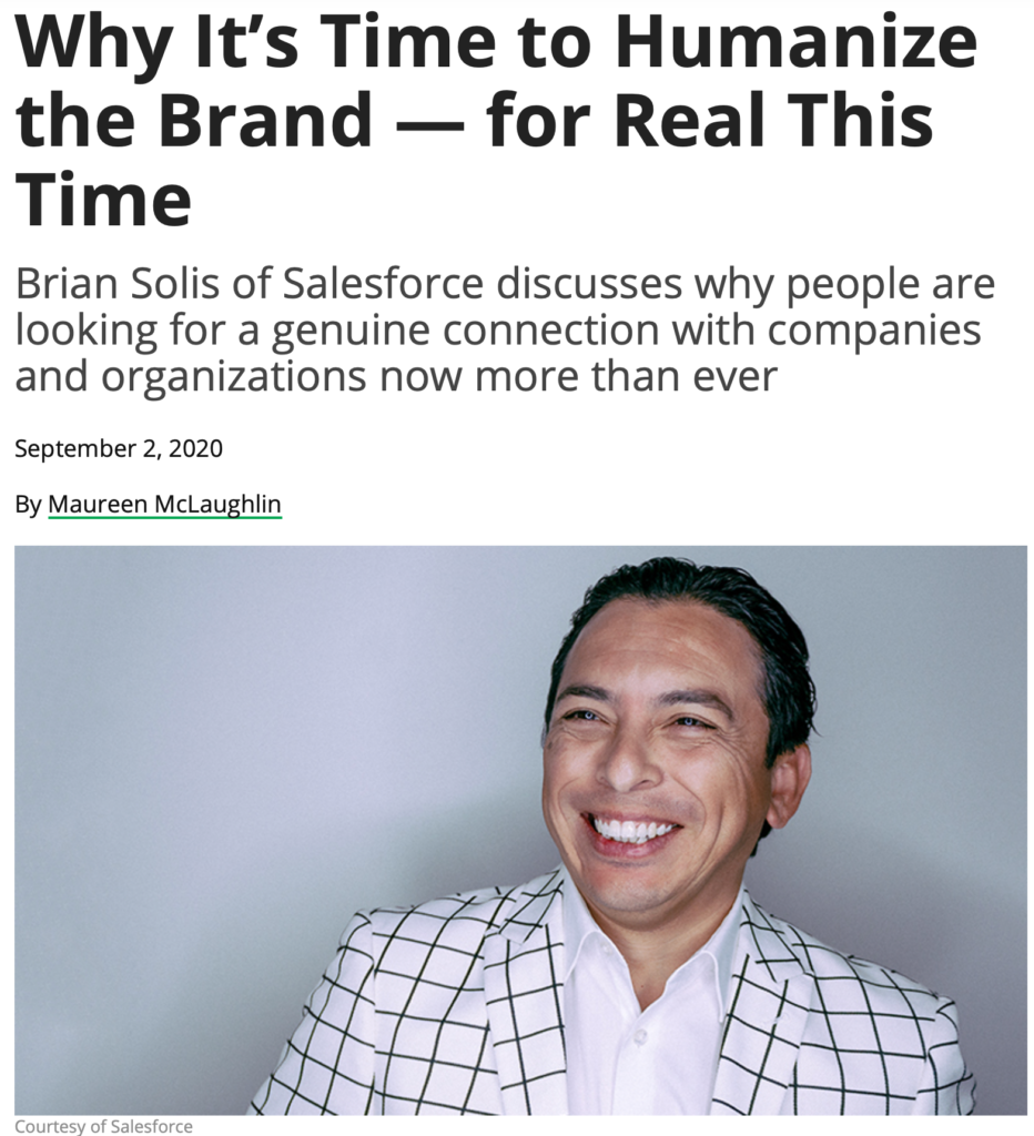 It's Time to Humanize Your Brand