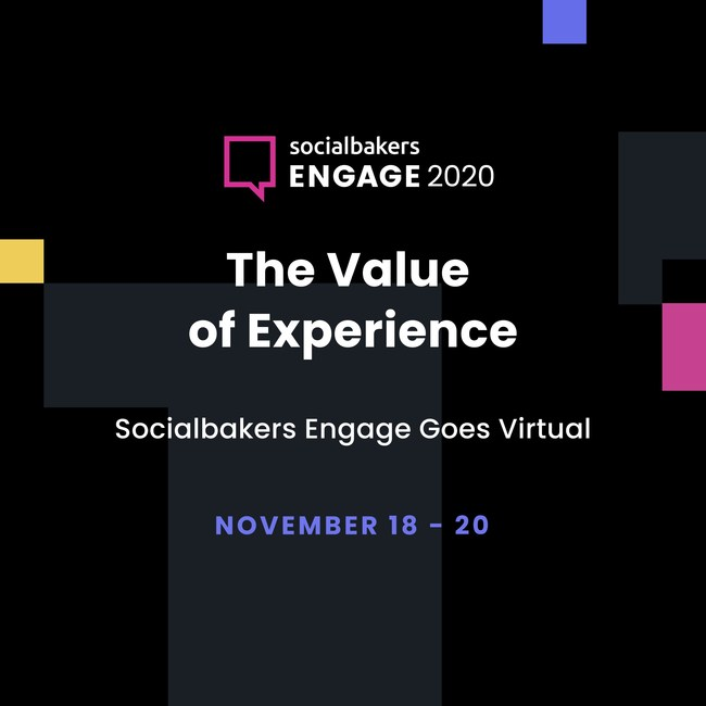 Socialbakers Brings Top Marketers Together at the Engage 2020 Conference