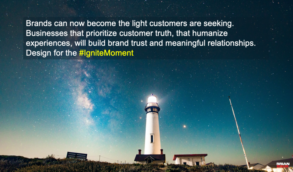 Introducing #IgniteMoments: Customers Experience So Much Darkness in Their Journey, Optimize Digital Customer Experiences to Deliver the Light