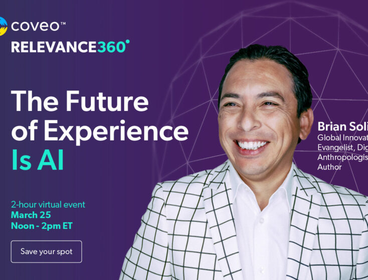 Coveo Announces Ray Wang, Brian Solis, Rachel Powell as Keynote Speakers at Relevance 360