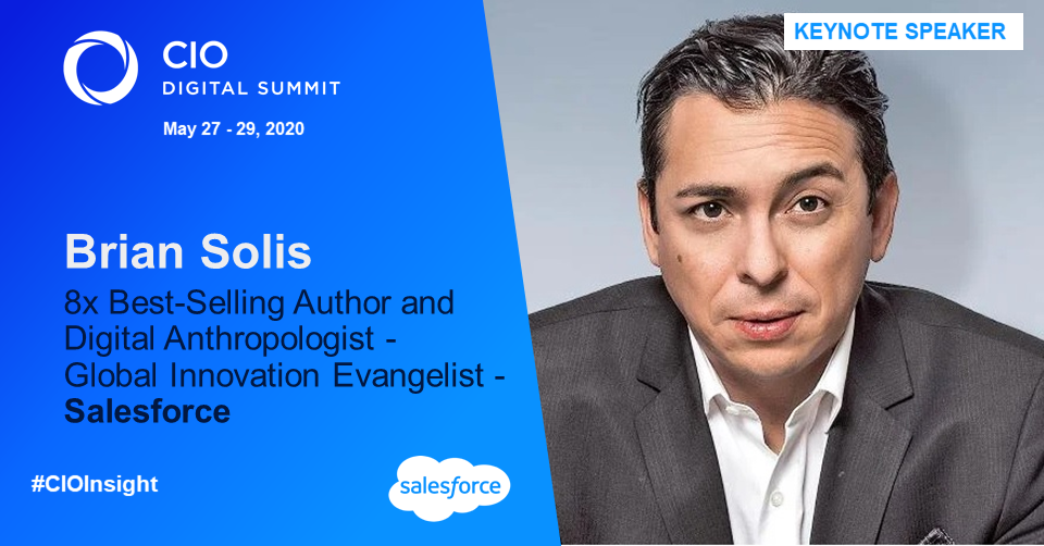 GDS Group Welcomes Brian Solis, Global Innovation Evangelist at Salesforce and 8x Best-Selling Author