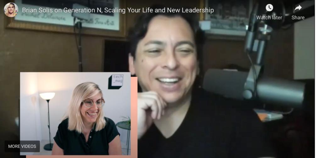 """Digitaal antropoloog Brian Solis: """"Bedrijven moeten zich nú klaarstomen voor Generation N"""" [Video in English]"""