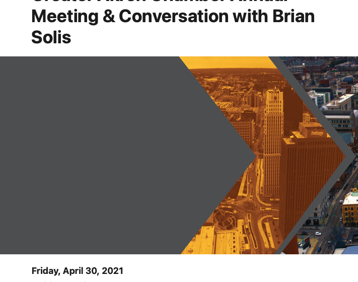 Greater Akron Chamber Annual Meeting & Conversation with Brian Solis