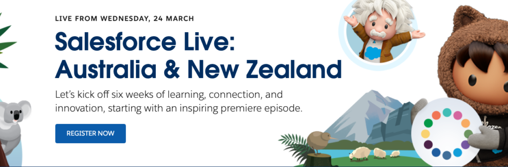 Salesforce Live Australia & New Zealand: The Future of Customer Experience, in the Age of Generation Novel